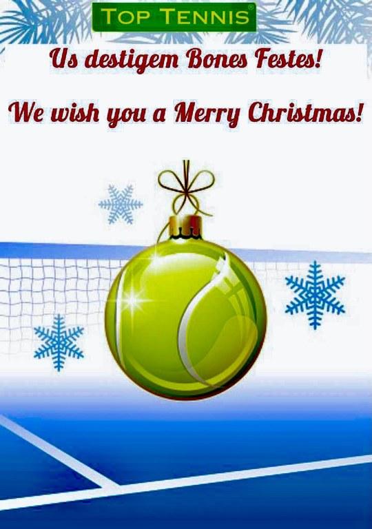 Bon Nadal i Feliç Any Nou.