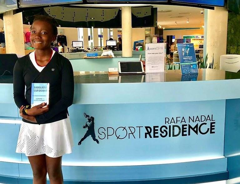 Wozuko Mdlulwa guanyar el Torneo Babolat Cup.