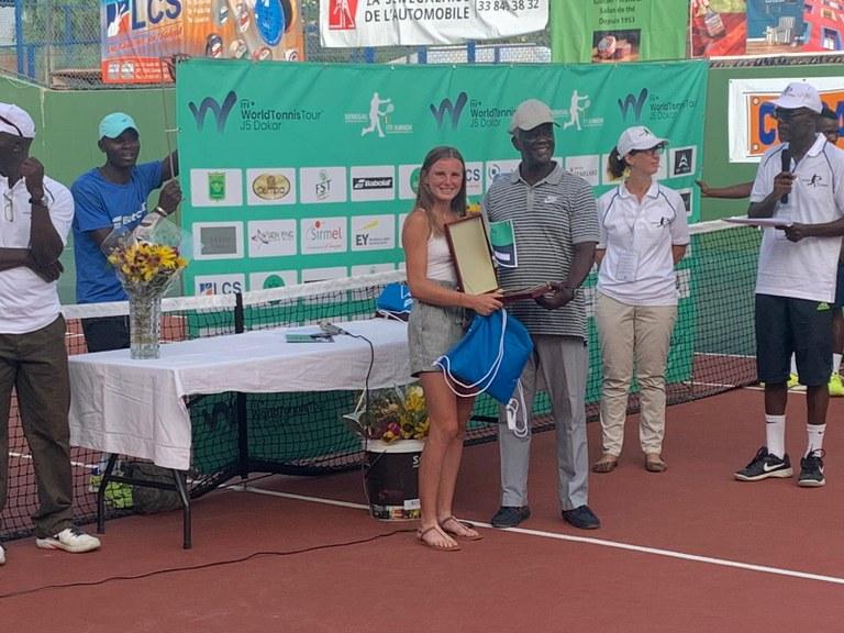 Nahia Berecoechea ITF Junior Champion.