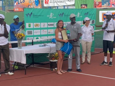 Nahia Berecoechea ITF Junior Champion.