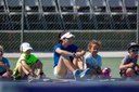 Top Tennis young tennis players.  – Top Tennis young tennis players waching the matches WTA $25.000. Barcelona Spain