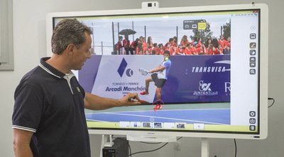 Video Análisis en aula. Centro Alto rendimeinto Top Tennis
