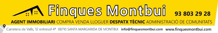 Finques Montbui