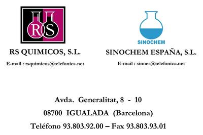 RS Químicos - Sinocherm