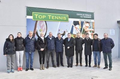 Presentado el nuevo proyecto deportivo de Top Tennis