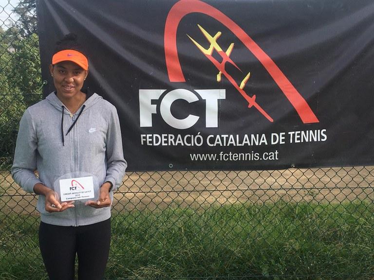 Gran triunfo de la Jugadora de Top Tennis, Anne Sophie Morandais