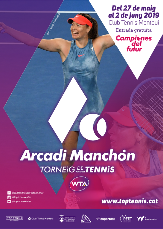 Torneo ITF  25.000$  Top Tennis Arcadi Manchon, puntuable para la WTA.