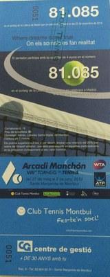 Top Tenis ya dispone del número de la suerte . ☘️