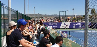 Numeroso publico durante la final del Torneo.