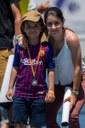 Jóvenes promesas de la Escuela de Tenis Top Tennis. –Las jóvenes promesas participan en un torneo de Mini- Tennis.