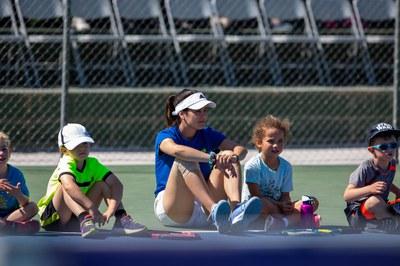 Top Tennis con los jóvenes.