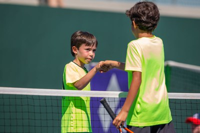 Finalistas Torneo de Mini-Tennis.