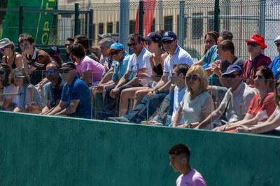 Asistencia de público durante el  Torneo.
